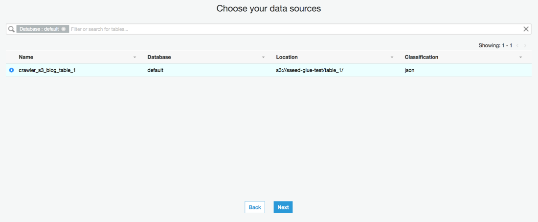 AWS Glue Part 2: ETL your data and query the result in